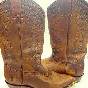 Frye Women's Billy Pull On Cowboy Boots 7.5